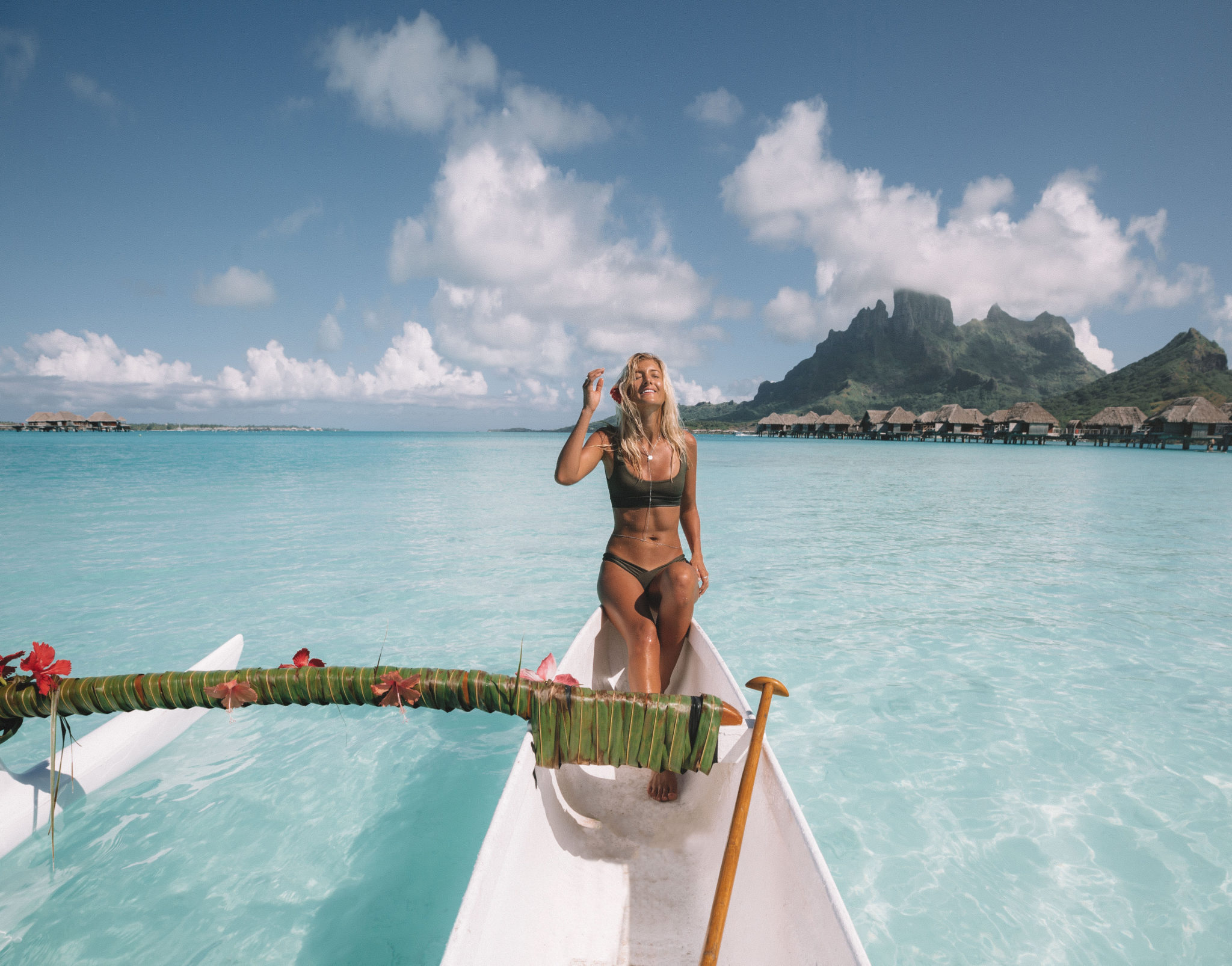 Imagine The Maldives Surrounded By Hawaiian Landscape, Thats Pretty Much  The Only Was To Compare It! We Stayed In An Overwater Bungalow U2013 It Wasnu0027t  Uncommon ...